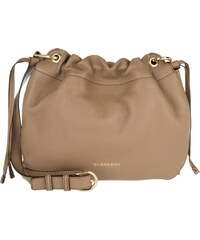 Burberry Sacs à Bandoulière, Bingley Crossbody Small Derby Leather House Check Dark Sand en beige