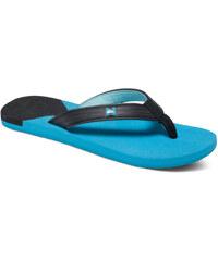 Quiksilver Molokai New Wave Deluxe Flip Flops, černá, 40