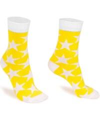 SuperSocks Hvezdy Barevné Ponožky