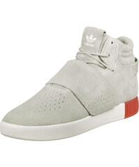 adidas Tubular Invader Strap Schuhe sesame/red