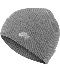Nike Sb Fisherman Beanie dark grey heahter/white