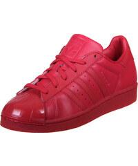adidas Superstar Glossy Toe W Schuhe ray red/black