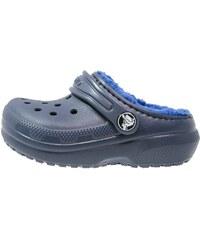 Crocs CLASSIC Pantolette flach navy/cerulean blue