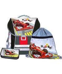 Emipo Chlapecký školní set batohový 3-dílný Formule racing