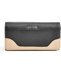 GUESS GUESS Paradis Saffiano Wallet - black multi