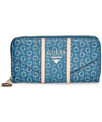 GUESS GUESS Nichols Logo Zip-Around - midnight
