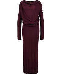 Vivienne Westwood Anglomania BOUDICCA Jerseykleid bordeaux