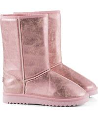 Esprit Boots souples à effet métallisé