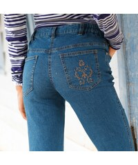 Outdoor collection Blancheporte Jean stretch brodé petite stature