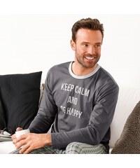 Blancheporte Tee-shirt pyjama manches longues imprimé