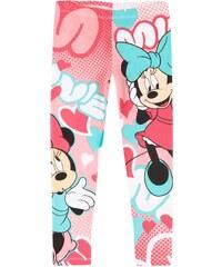 Disney Minnie Leggings pink in Größe 104 für Mädchen aus 95% Baumwolle 5% Elastan