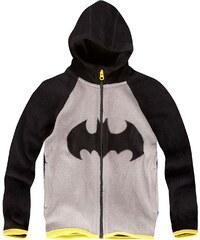 Batman Polar Fleece Jacke grau in Größe 104 für Jungen aus 100 % Polyester