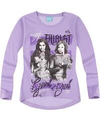 Disney Descendants Langarmshirt lila in Größe 140 für Mädchen aus 100% Baumwolle