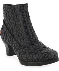 Boots Femme Art en Synthétique Noir
