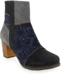 Boots Femme Art en Cuir Multi