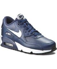 Schuhe NIKE - Nike Air Max 90 Ltr (Gs) 833412 400 Midnight Navy/White/Black
