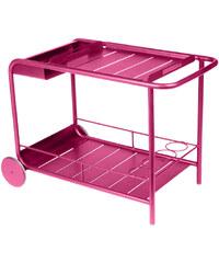 Servírovací stolek Luxembourg, sytě růžový