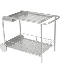 Servírovací stolek Luxembourg, světle šedý