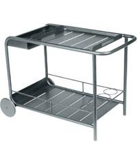Servírovací stolek Luxembourg, tmavě šedý