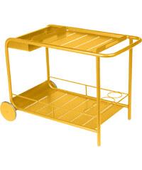 Servírovací stolek Luxembourg, medově žlutý