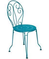 Kovová židle Montmartre, tyrkysová