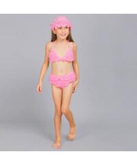 Lesara Kinder-Bikini mit Badehaube - 92