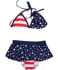 Lesara Kinder-Bikini Stars & Stripes - 92