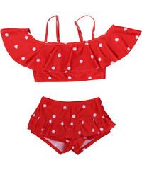 Lesara Kinder-Bikini mit Pünktchen-Muster - 98-104