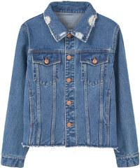 MANGO Jeansjacke In Mittlerer Waschung