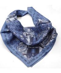 Guess hedvábný šátek s ornamenty