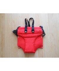 Jitro Vatelínové kalhotky s kšandami - Červená
