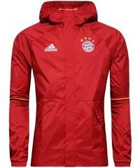 Bunda adidas FC Bayern Mnichov Rain L ČERVENÁ