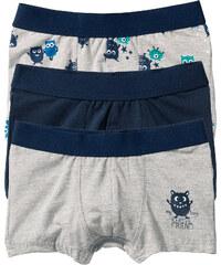 bpc bonprix collection Lot de 3 boxers gris enfant - bonprix