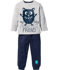 bpc bonprix collection Pyjama (Ens. 2 pces.) gris enfant - bonprix