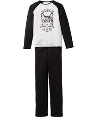 bpc bonprix collection Pyjama (Ens. 2 pces.) noir enfant - bonprix