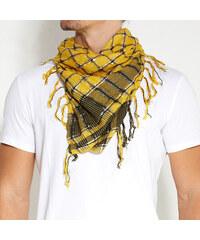 Trendhim Žlutý kostkovaný šátek G1-4-1076
