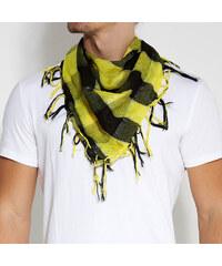 Trendhim Žlutý kostkovaný šátek A2-1-1075