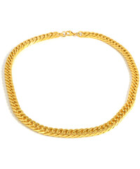 Trendhim Náhrdelník z nerezové oceli zlaté barvy O8-5-1521