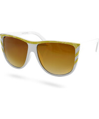 EverShade Bílé dámské sluneční brýle Aviator J3-7-1714