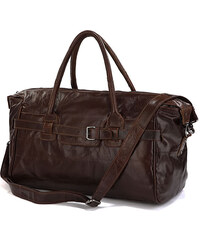 Delton Bags Hnědá sportovní taška Vintage L5-9-2071