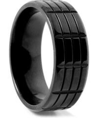 Trendhim Titanový prsten Triple Grooved N3-7-2427