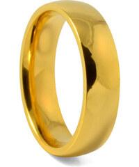 Trendhim 6mm Zlatý titanový prsten C1-1-2483