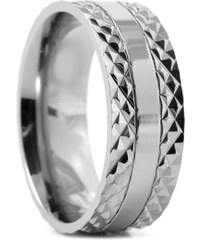 Trendhim Titanový prsten Spiked Center O2-1-3310