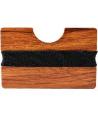 Trendhim Pouzdro na karty Kosso Wood P6-6-4142