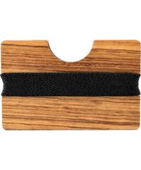 Trendhim Pouzdro na karty Zebra Wood P6-6-4150