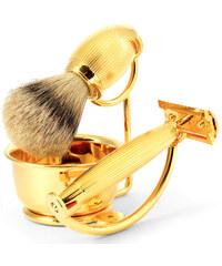 Benjamin Barber Luxusní 4dílná sada na holení Gold Imperial goldXT4piece_set