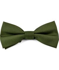 Trendhim Jednoduchý motýlek Army Green U2-6-4943