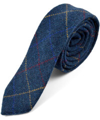 Trendhim Ručně zhotovená kostkovaná kravata T1-1-5834