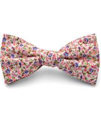 Trendhim Květovaný motýlek Pink & Blue T9-3-6343