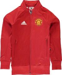 Sportovní bunda adidas Manchester United Anthem dět. červená